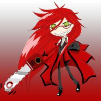 Grell Sutcliff by EmiMagick