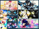 Banners and signatures by motoko-09