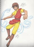 Air Bender: Zac by BlackRoseDestiny