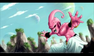 Collab - Betis player Kid Buu by kessir