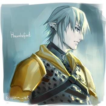 Haurchefant by tksnim