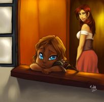 Where are you daddy?... by Loren-Farlow