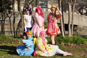 My Little Ponies Group 2 by MakeupGoddess