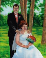 Wedding Portrait 2 by Car2nst