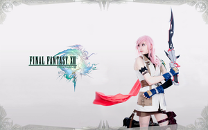 Lightning cosplay wallpaper by cyberlight
