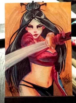 shi sketchcard commission by Peng-Peng