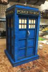 16in Tall Wooden Tardis - view 2 by Athey
