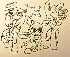 MH-TTS : Happy Late Easter by CrissyG