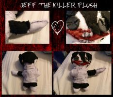 Jeff The Killer Plushy by TwinkletoesKat