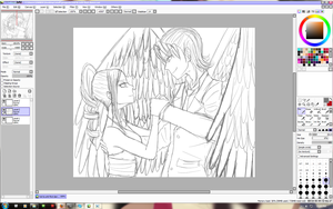 HNA: Val and Lotti first dance WIP by J3Mimi