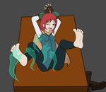 Emily Hayes Tickling ArtTrade by uh-stuff