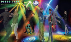 Disco Time by Captain-AlbertWesker