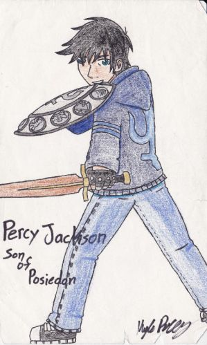 Percy Jackson, son of Poseidon
