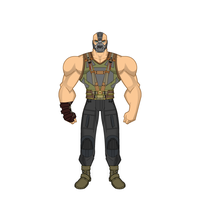 Bane - The Dark Knight Rises by Carcharocles