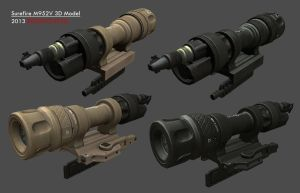 SureFire M952V Weapon Light by redroguexiii