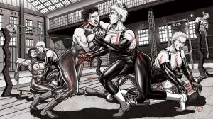 Modern Fighters 7 - Commission Violence Extend by leandro-sf