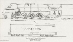 Acornish Royal Locomotive by Jim-Prower
