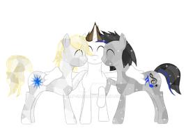 Brendan, Theo and Daniel by MLP-Sage