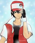Trainer Cards and Bios Pokemon_Trainer__Red_by_sonorousviola