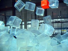 Cubes in Motion 5 by serpentesse