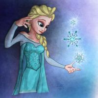 Elsa from Frozen by ComicGuy89