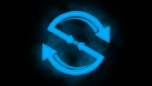 Neon Backspin Wallpaper Logo Thing by OverdrivenZX