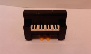 Mini Lego Piano by MG18