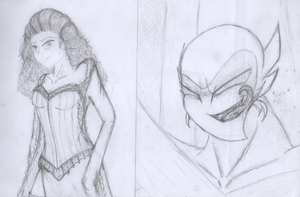 AMIP The Phantom ofthe Opera (Christine and Chaos) by Francourecompositor4