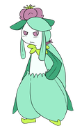 Gakupo the Shiny Male? Lilligant by Forestii