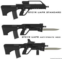 STEYR UAPR anti-pirate mod by ZiWeS