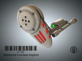ACI-128P Adv Cochlear Implant by 2753Productions