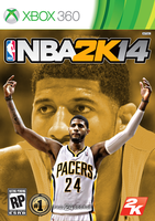 Paul George NBA2K14 Cover - XBOX360 by 1madhatter