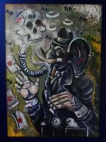 nono the magician elephant by Bonte-Laurent