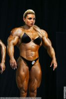 Female muscle 4 by BigDane