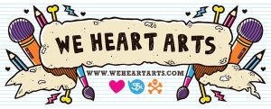 We Heart Arts Banner by SuperFex