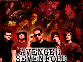 A7X wallpaper by ArtificialAngel6
