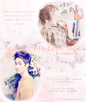 KP fanfic poster tutorial #1 Light Layout by ohai-levi