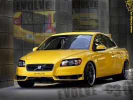 Volvo C30 Wallpaper by TuningmagNet