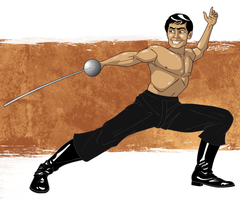 Sulu the Swashbuckler by 71olo