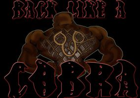 BACK LIKE COBRA logo by RWhitney75