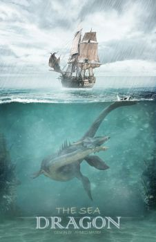 The sea dragon by Ahmed-Matrix