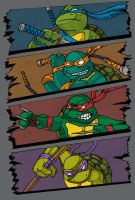 Heroes In A Half Shell by Nvlutz