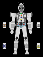 Kamen Rider Fourze Adapter States by TrackerZero