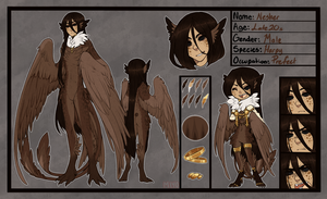 Reference Sheet for Ethelune by KingMiyo