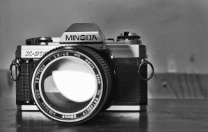 Minolta bw by Staticpictures