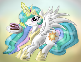 My Cake (Color) by malamol