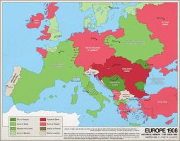 Europe 1908 : The Great War by ImDeadPanda