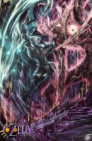 mm Fierce Deity vs Majora remastered by Zoroark-Void