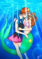 Under the Sea, Love is here by GreatPeace