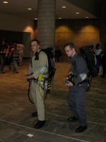Two more Ghostbusters by AngstyGuy